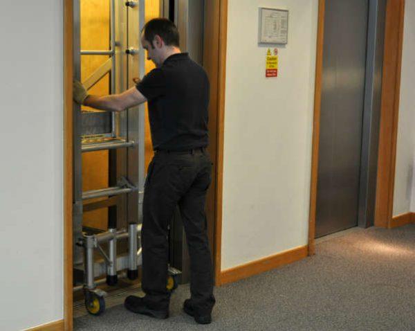 2021 Desk Glider 115 can fit through a standard single doorway