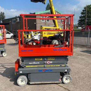 side view lifter in the yard