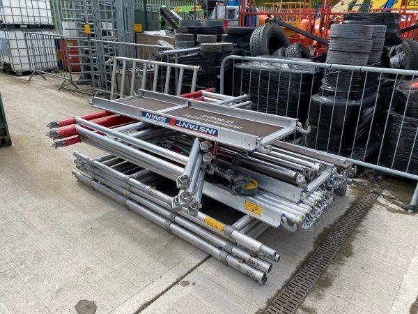 double width platform not assembled