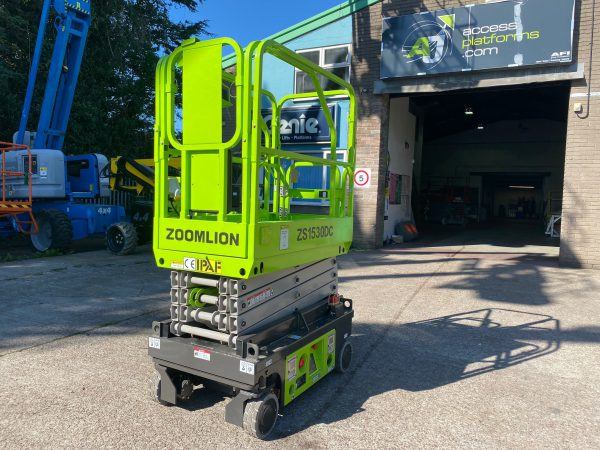 rear side view zoomlion lifter