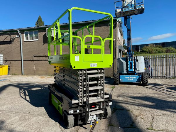rear view zoomlion lifter